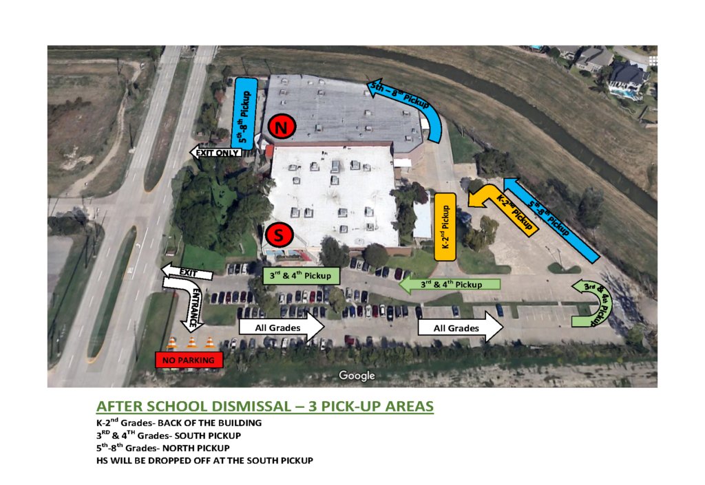 New Drop Off And Pickup Procedures Starting Tuesday September Th