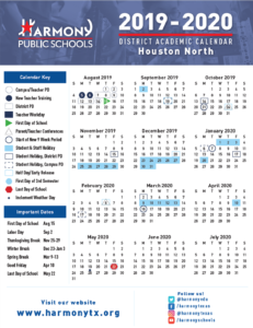 Usc Academic Calendar 2014-2020 News – Harmony School of Excellence – Houston