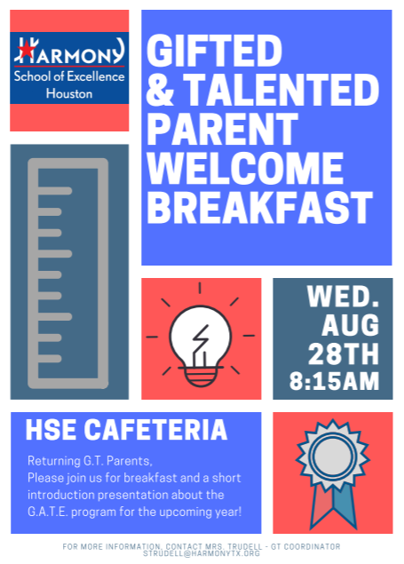 GATE Breakfast Flyer